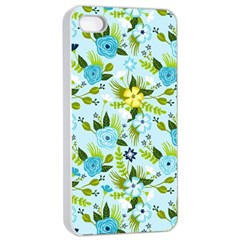 Flower Bucket Apple Iphone 4/4s Seamless Case (white) by Contest1888822