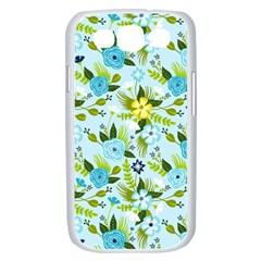 Flower Bucket Samsung Galaxy S III Case (White) by Contest1888822