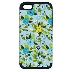 Flower Bucket Apple iPhone 5 Hardshell Case (PC+Silicone) by Contest1888822
