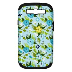 Flower Bucket Samsung Galaxy S III Hardshell Case (PC+Silicone) by Contest1888822