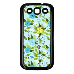 Flower Bucket Samsung Galaxy S3 Back Case (Black) by Contest1888822