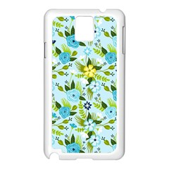 Flower Bucket Samsung Galaxy Note 3 N9005 Case (white) by Contest1888822
