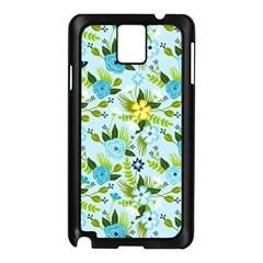 Flower Bucket Samsung Galaxy Note 3 N9005 Case (Black) by Contest1888822