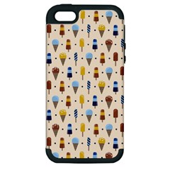 Ice Cream! Apple Iphone 5 Hardshell Case (pc+silicone) by Contest1888822