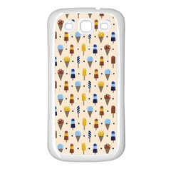 Ice Cream! Samsung Galaxy S3 Back Case (white) by Contest1888822