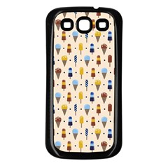 Ice Cream! Samsung Galaxy S3 Back Case (black) by Contest1888822