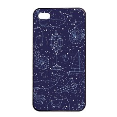 Constellations Apple Iphone 4/4s Seamless Case (black) by Contest1888822