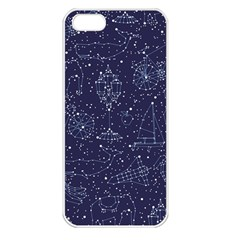 Constellations Apple Iphone 5 Seamless Case (white) by Contest1888822