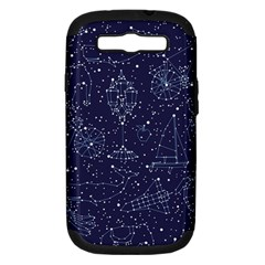 Constellations Samsung Galaxy S Iii Hardshell Case (pc+silicone) by Contest1888822