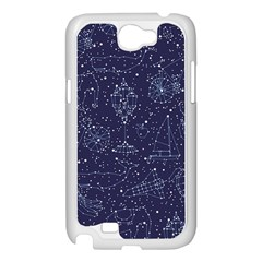 Constellations Samsung Galaxy Note 2 Case (White) by Contest1888822