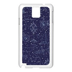 Constellations Samsung Galaxy Note 3 N9005 Case (white) by Contest1888822