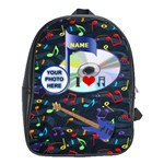 Music XL school bag - School Bag (XL)