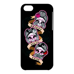Skull Beauties Apple iPhone 5C Hardshell Case by TheTalkingDead