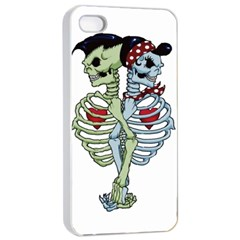 Love Me Forever Apple Iphone 4/4s Seamless Case (white) by TheTalkingDead