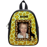 giraffe small bookbag - School Bag (Small)