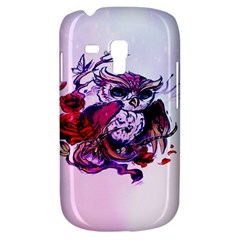 Spring Owl Samsung Galaxy S3 Mini I8190 Hardshell Case by TheTalkingDead