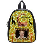Giraffe small bookbag #2 - School Bag (Small)