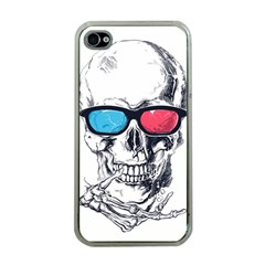 3death Apple Iphone 4 Case (clear) by Contest1889625