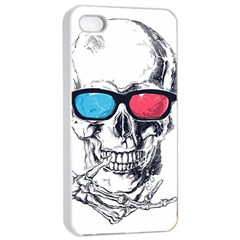 3Death Apple iPhone 4/4s Seamless Case (White) by Contest1889625