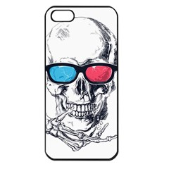 3Death Apple iPhone 5 Seamless Case (Black) by Contest1889625