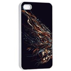 A Beautiful Beast Apple Iphone 4/4s Seamless Case (white) by Contest1889625