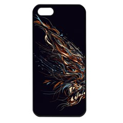 A Beautiful Beast Apple Iphone 5 Seamless Case (black) by Contest1889625