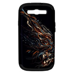 A Beautiful Beast Samsung Galaxy S Iii Hardshell Case (pc+silicone) by Contest1889625