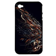 A Beautiful Beast Apple Iphone 4/4s Hardshell Case (pc+silicone) by Contest1889625
