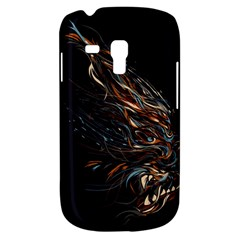 A Beautiful Beast Samsung Galaxy S3 MINI I8190 Hardshell Case by Contest1889625