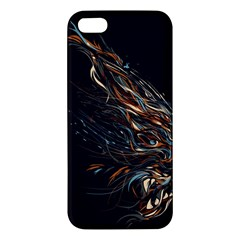 A Beautiful Beast Apple Iphone 5 Premium Hardshell Case by Contest1889625