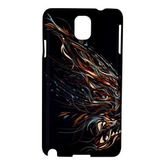 A Beautiful Beast Samsung Galaxy Note 3 N9005 Hardshell Case by Contest1889625
