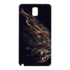 A Beautiful Beast Samsung Galaxy Note 3 N9005 Hardshell Back Case by Contest1889625