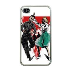 Dance Of The Dead Apple Iphone 4 Case (clear) by Contest1889625