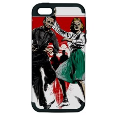 Dance Of The Dead Apple Iphone 5 Hardshell Case (pc+silicone) by Contest1889625