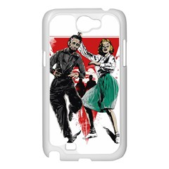 Dance of the Dead Samsung Galaxy Note 2 Case (White) by Contest1889625