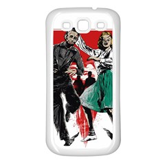 Dance Of The Dead Samsung Galaxy S3 Back Case (white) by Contest1889625