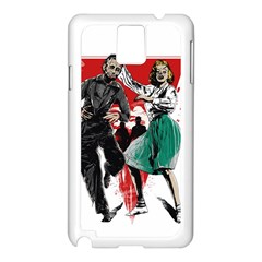 Dance Of The Dead Samsung Galaxy Note 3 N9005 Case (white) by Contest1889625