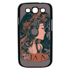 Medussa Turns To Rock Samsung Galaxy S III Case (Black) by Contest1889625
