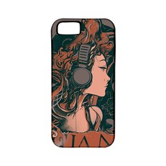 Medussa Turns To Rock Apple Iphone 5 Classic Hardshell Case (pc+silicone) by Contest1889625