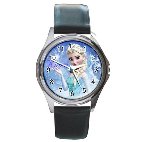 By Kiki Marie   Round Metal Watch   2kg0k7x220pv   Www Artscow Com Front