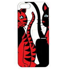 Cool Cats Apple Iphone 5 Hardshell Case With Stand by StuffOrSomething