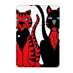 Cool Cats Samsung Galaxy Tab 2 (10.1 ) P5100 Hardshell Case
