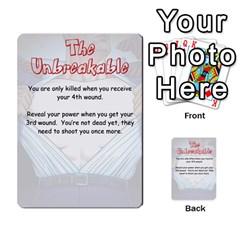 Cash N Guns   Batman Version By Twlee33 Hotmail Com   Multi Purpose Cards (rectangle)   1oc5ler4t1b6   Www Artscow Com Front 53