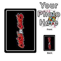 Cash N Guns   Batman Version By Twlee33 Hotmail Com   Multi Purpose Cards (rectangle)   1oc5ler4t1b6   Www Artscow Com Back 7