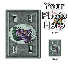 Cash N Guns   Batman Version By Twlee33 Hotmail Com   Multi Purpose Cards (rectangle)   1oc5ler4t1b6   Www Artscow Com Front 35