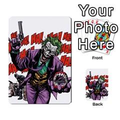 Cash N Guns   Batman Version By Twlee33 Hotmail Com   Multi Purpose Cards (rectangle)   1oc5ler4t1b6   Www Artscow Com Front 45