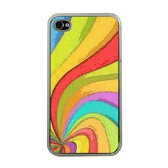 Twist Apple Iphone 4 Case (clear) by Contest1719785