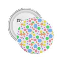 Pastel Bubbles 2 25  Button