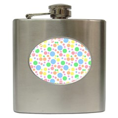 Pastel Bubbles Hip Flask by StuffOrSomething