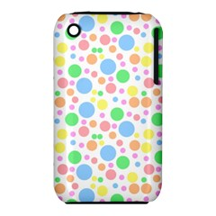 Pastel Bubbles Apple Iphone 3g/3gs Hardshell Case (pc+silicone) by StuffOrSomething